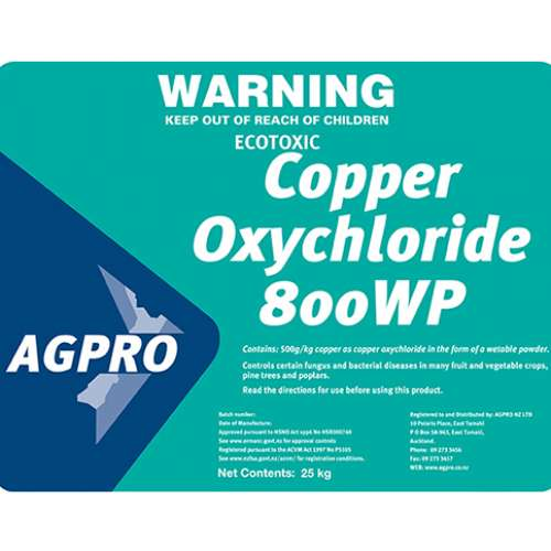 Copper Oxychloride 800WP