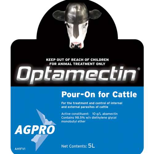Optamectin Pour-on for Cattle