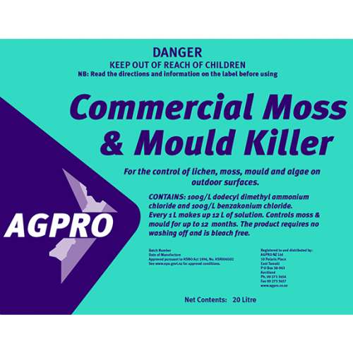 Moss and Mould Killer Commercial