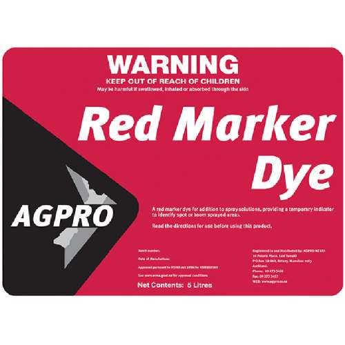 Red Marker Dye AZO