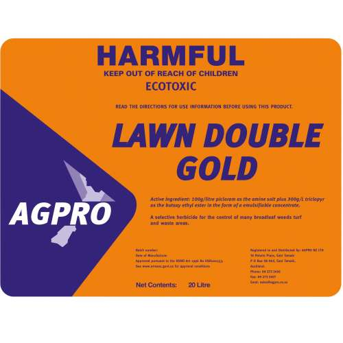 Lawn Double Gold